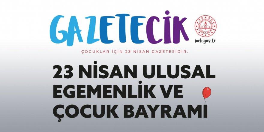 MEB'den çocuklara özel 'Gazetecik' #23NisanMutluOlsun