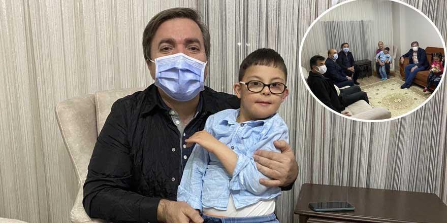 Vali Hamza Aydoğdu'dan özel çocuğa özür ziyareti