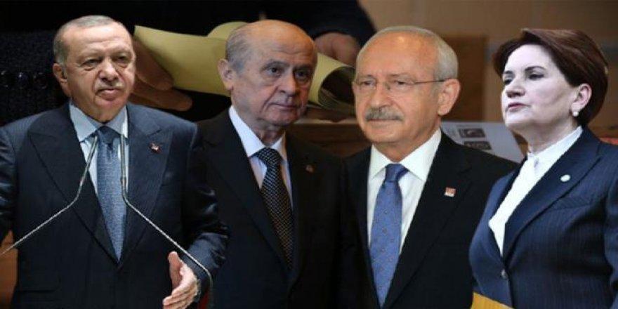 Son ankette dikkat çeken sonuçlar! Kararsızlar ikinci parti oldu, MHP de HDP'yi geçti