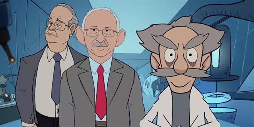 AK Parti'den CHP için 'yalan üretim merkezi' animasyonu
