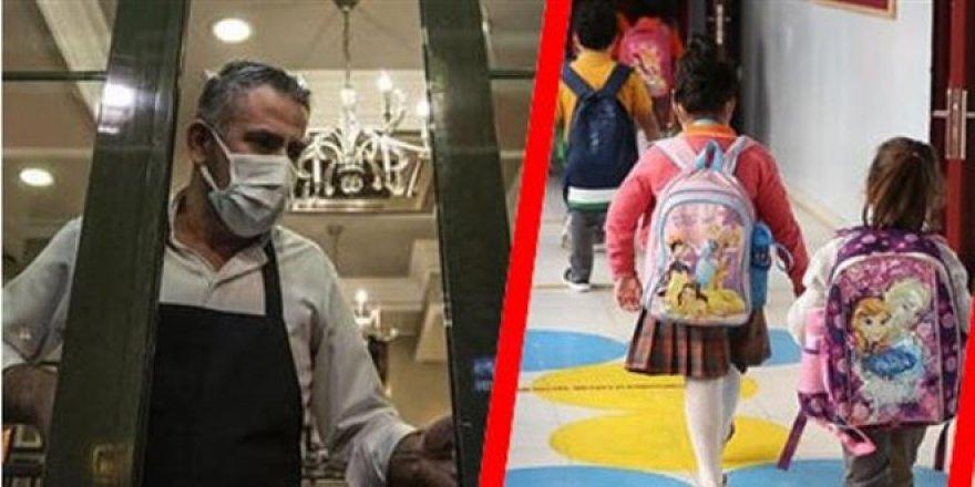 17 Mayıs'tan sonra her hafta bir açılma: Önce okullar ve esnaf