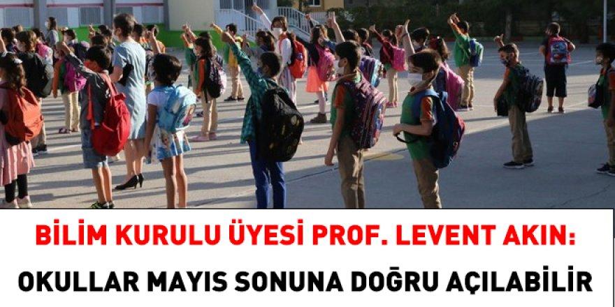 Bilim Kurulu üyesi: Okullar, Mayıs sonuna doğru açılabilir