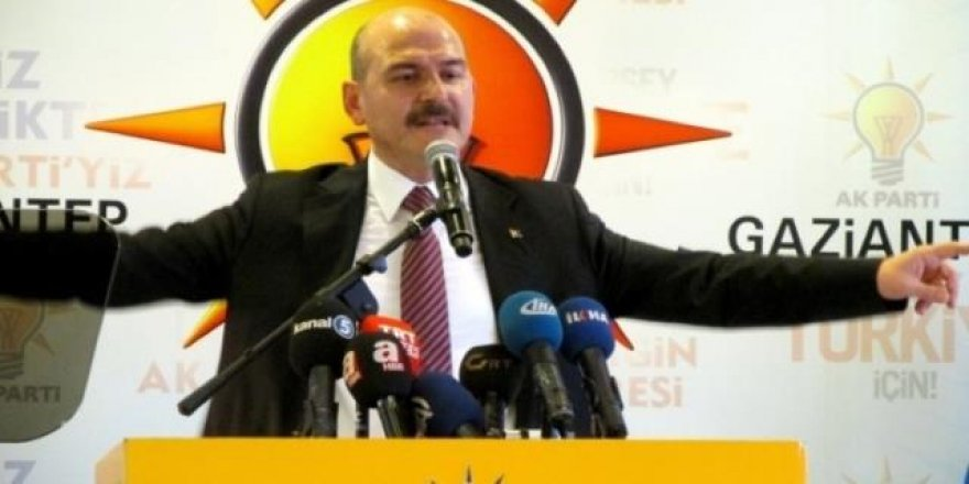AK Parti'li vekil: Soylu büyük tehdit altında