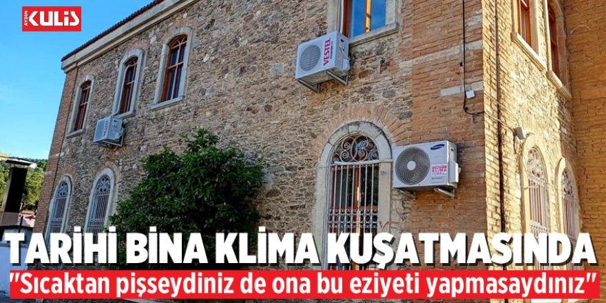 """Milli Eğitimin Kullandığı Tarihi Bina """"Klima"""" Kuşatmasında"""