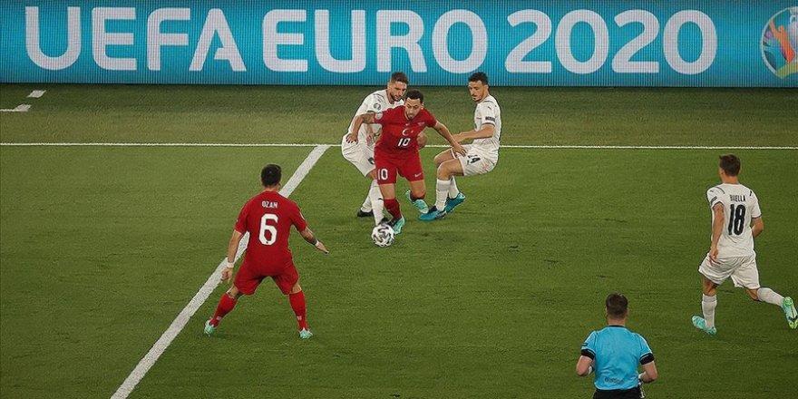 A Milli Takım, İtalya'ya 3-0 yenildi