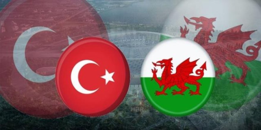 Türkiye-Galler maçının saati belli oldu!