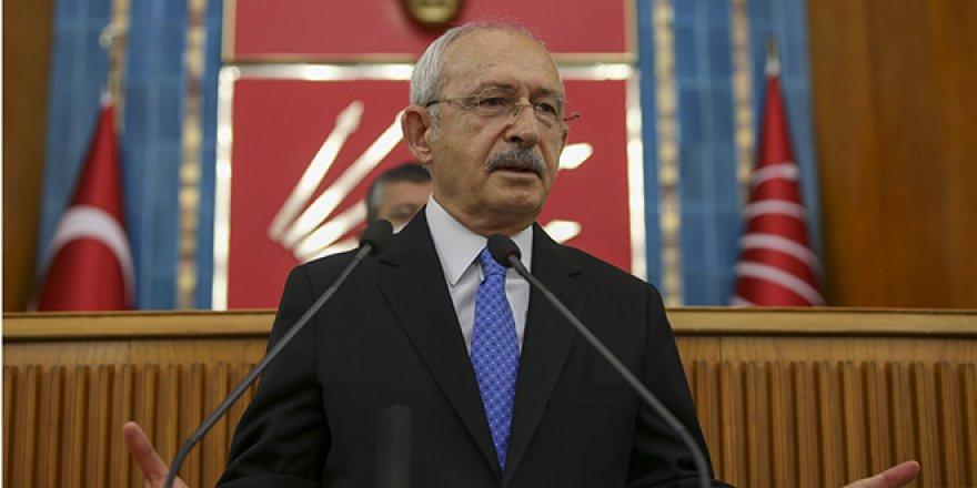Kılıçdaroğlu: İki temel kırmızı çizgimiz var Bayrağımız ve vatanımız