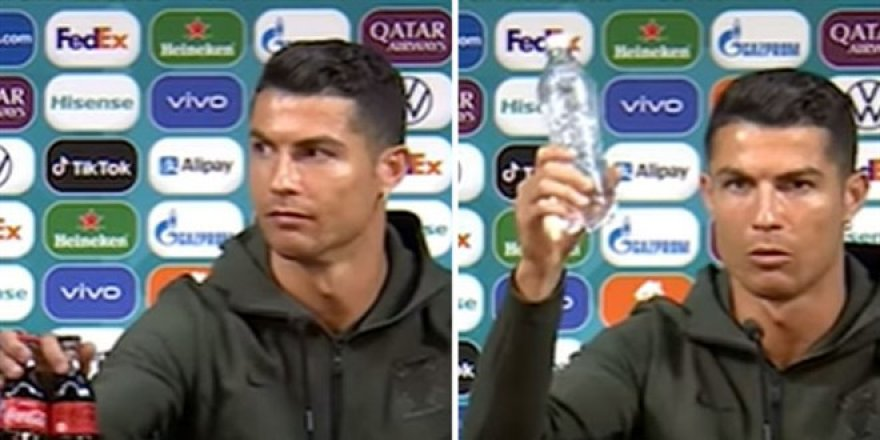 Ronaldo'nun hareketi Coca Cola'ya pahalıya patladı!