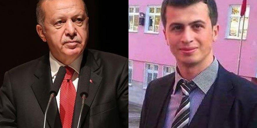 Erdoğan, 2017'de şehit edilen Necmettin öğretmeni andı