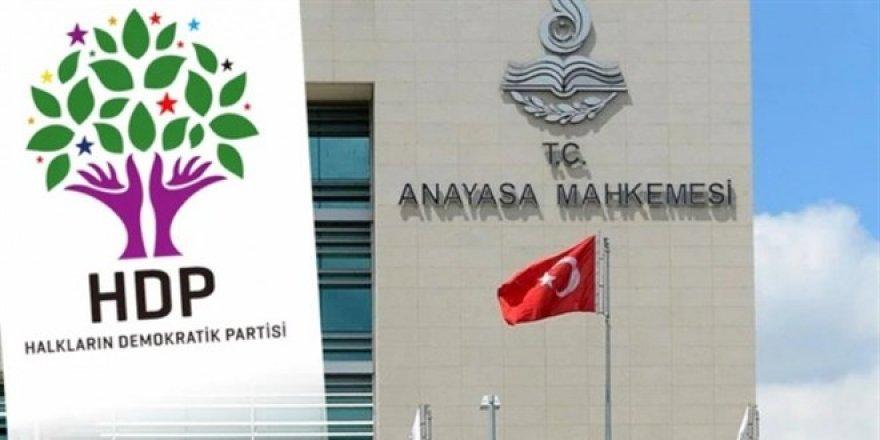 AYM Raportörü HDP hakkında raporunu sundu