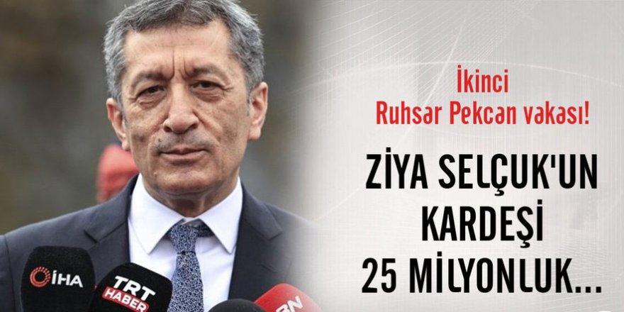 İkinci Ruhsar Pekcan vakası iddiası! Ziya Selçuk'un kardeşi 25 milyonluk...