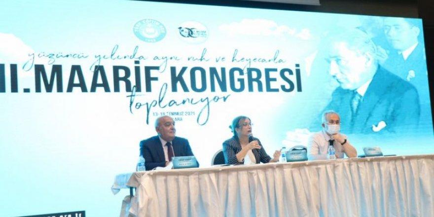 2. Maarif Kongresi Kapsamında 12 Tematik Panel Gerçekleştirildi