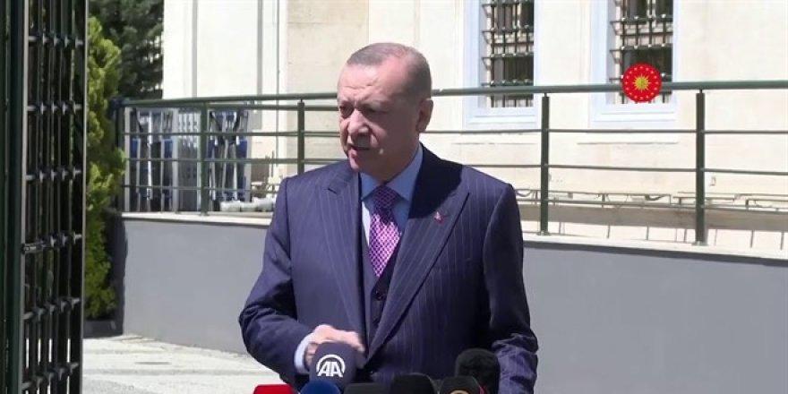 Erdoğan: Bayramda halkımzın yaşam tarzı her şeyi tersine çevirdi
