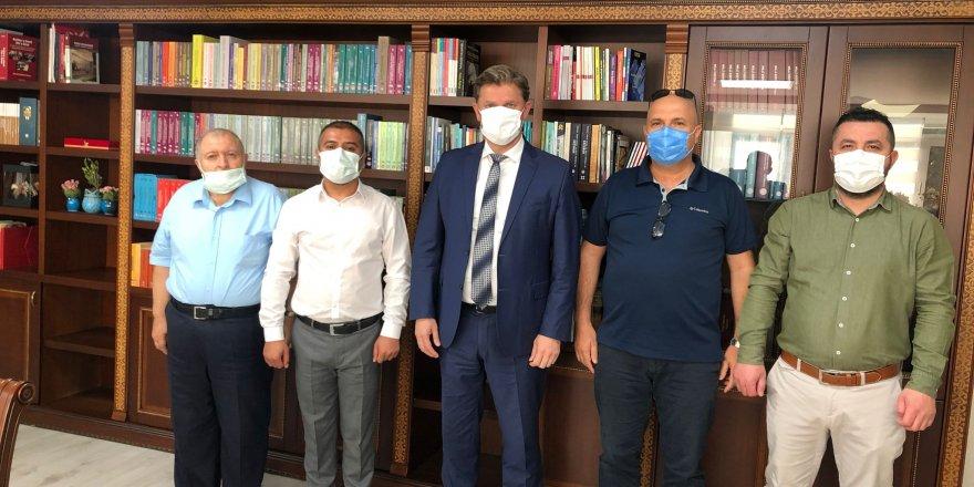 ÖZKURDER'den  Genel Müdür Abdullah Süslü'ye Hayırlı Olsun Ziyareti