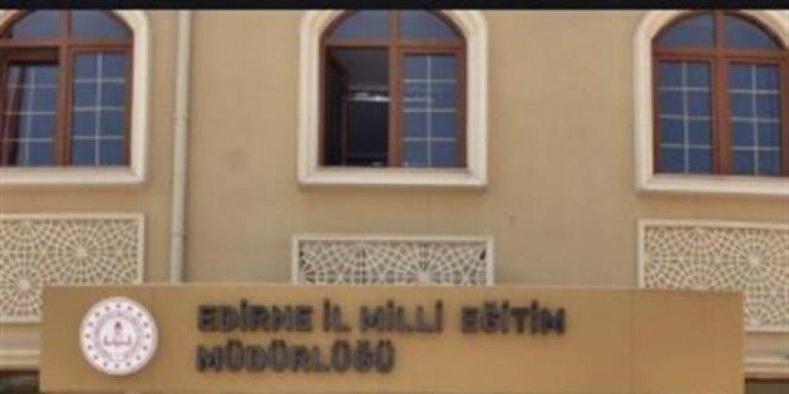 Müdürün öğrencileri için inşaatlarda çalıştığı iddiasına açıklama geldi