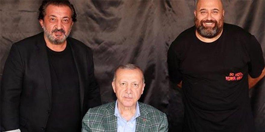 MasterChef'in ünlü şefleri Erdoğan'la buluştu