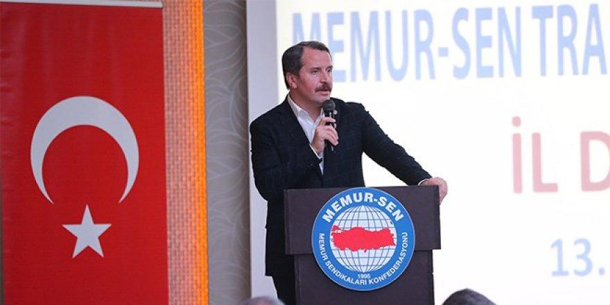 Memur Sen Başkanı: Son 1 ayda 18 binden fazla üye kazandık