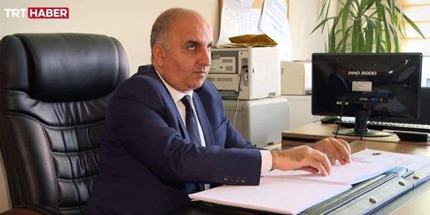 Türkiye'nin görme engelli tek okul müdürü