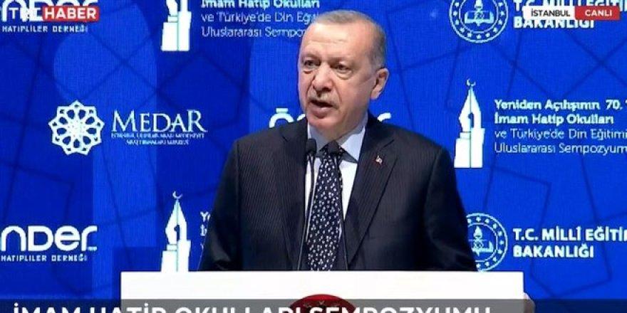 Erdoğan: İHL'lerden kendi insanına kurşun sıkan hain çıkmadı