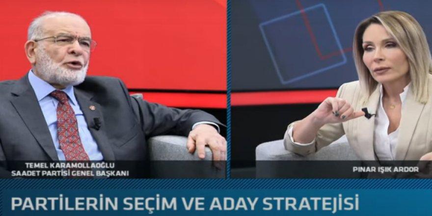 Saadet Partisi lideri Karamollaoğlu'ndan erken seçim tarihi