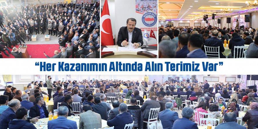 """Ali Yalçın: """"Her Kazanımın Altında Alın Terimiz Var"""""""