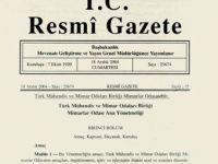 7 Haziran 2016 Tarihli ve 29735 Sayılı Resmî Gazete