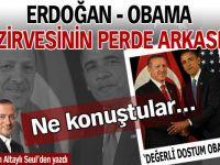 Erdoğan - Obama zirvesinin perde arkası