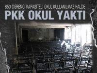 PKK Şemdinli'de okul yaktı!