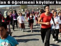 Kaçırılan 6 öğretmeni köylüler kurtardı