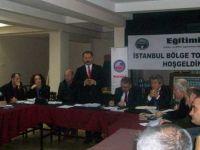 Eğitim İş İstanbul Bölge Toplantısı Yapıldı