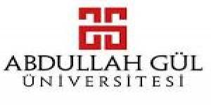 Abdullah Gül Üniversitesi Öğretim Üyesi alım ilanı