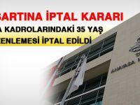 KPSS-A'daki 35 yaş şartına iptal kararı