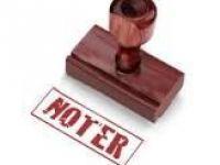 2013 Yılı Noterlik Ücret Tarifesi