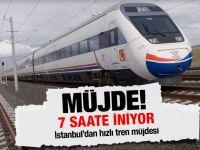 İstanbul'a bir hızlı tren müjdesi daha!