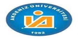 Akdeniz Üniversitesi Öğretim Üyesi alım ilanı