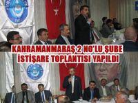 Türk Eğitim-Sen Kahramanmaraş'ta Toplantı Yaptı