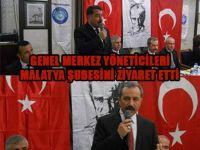 TES Yöneticileri Malatya Şubesini Ziyaret Etti