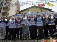 Memur-Sen 1 Mayısı Çanakkalede kutladı
