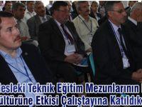 Ali Yalçın, Mesleki Teknik Eğitim Çalıştayında