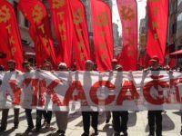 KESK Taksim Gezi Parkı'na yürüdü!