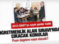 Öğretmenlik Alan Sınavı'nda çıkacak konular