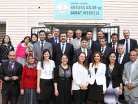 Yemen Bakanı Ankara Bilim ve Sanat Merkezi'ni Ziyaret Etti