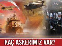TSK Türkiye'deki asker sayısını açıkladı
