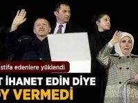 Erdoğan İstifa Eden Vekillere Yüklendi