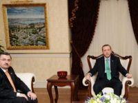 Ahmet Gündoğdu, Başbakan Erdoğan'la görüştü.