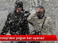 Dikkat kar yağışı geliyor!