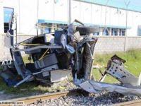 Mersin'de Tren Kazası : 9 Ölü