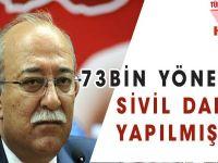 73 Bin Yöneticiye Sivil Darbe Yapılmıştır