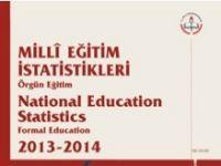 Millî Eğitim İstatistikleri, Örgün Eğitim 2013-2014-Yeni
