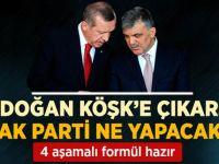 Erdoğan Cumhurbaşkanı Olursa, AKP'nin 4 Aşamalı Formülü